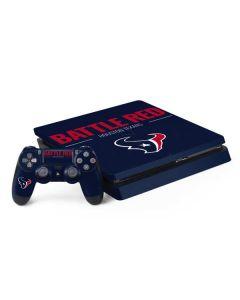 Houston Texans Team Motto PS4 Slim Bundle Skin