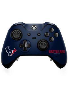 Houston Texans Team Motto Xbox One Elite Controller Skin