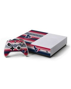 Houston Texans Trailblazer Xbox One S All-Digital Edition Bundle Skin