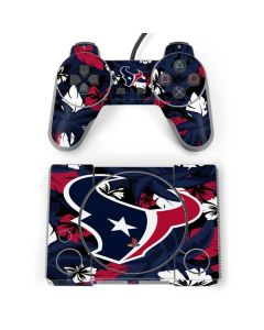 Houston Texans Tropical Print PlayStation Classic Bundle Skin