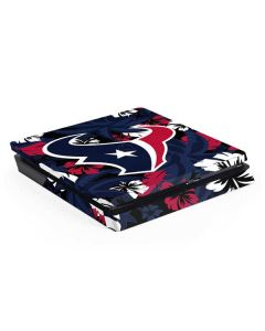Houston Texans Tropical Print PS4 Slim Skin
