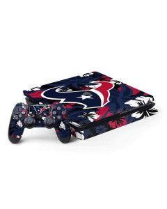 Houston Texans Tropical Print PS4 Slim Bundle Skin