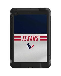 Houston Texans White Striped LifeProof Fre iPad Mini 3/2/1 Skin