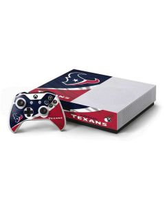 Houston Texans Xbox One S Console and Controller Bundle Skin