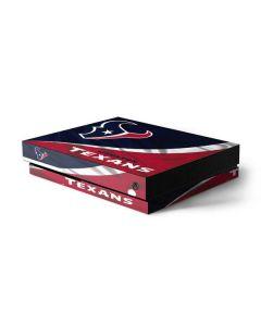 Houston Texans Xbox One X Console Skin