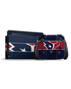 Houston Texans Zone Block Nintendo Switch Bundle Skin