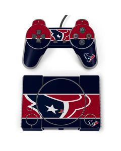 Houston Texans Zone Block PlayStation Classic Bundle Skin