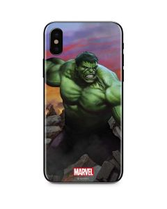 Hulk Flexing iPhone X Skin