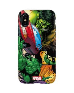 Hulk in Action iPhone XS Max Pro Case