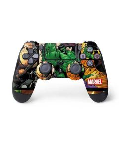 Hulk in Action PS4 Controller Skin