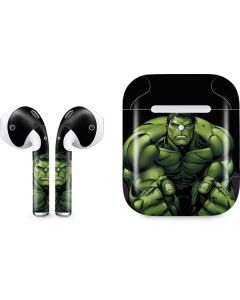 Hulk is Angry Apple AirPods 2 Skin