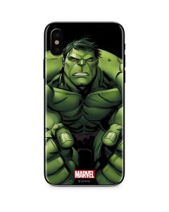 Hulk is Angry iPhone XS Max Skin