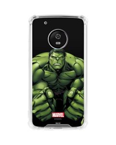 Hulk is Angry Moto G5 Plus Clear Case