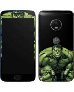 Hulk is Angry Moto G5 Plus Skin