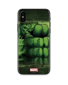 Hulk is Ready for Battle iPhone X Skin