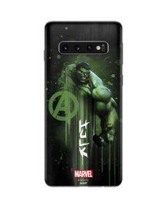 Hulk is Ready Galaxy S10 Skin