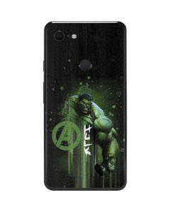 Hulk is Ready Google Pixel 3 XL Skin