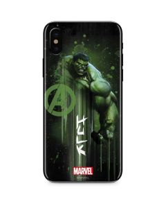 Hulk is Ready iPhone XS Skin