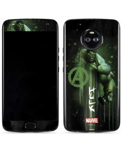 Hulk is Ready Moto X4 Skin