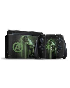 Hulk is Ready Nintendo Switch Bundle Skin