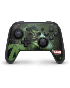 Hulk is Ready Nintendo Switch Pro Controller Skin