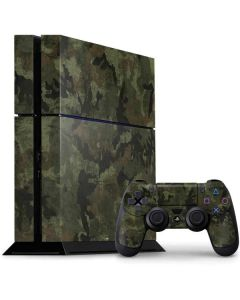 Hunting Camo PS4 Console and Controller Bundle Skin