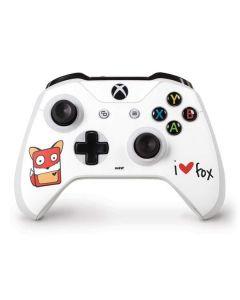 I HEART fox Xbox One S Controller Skin