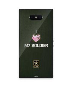 I Heart My Soldier Green Razer Phone 2 Skin