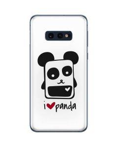 i HEART panda Galaxy S10e Skin