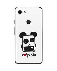 i HEART panda Google Pixel 3 XL Skin