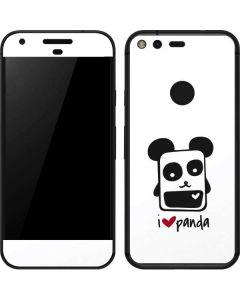 i HEART panda Google Pixel Skin