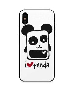 i HEART panda iPhone XS Max Skin