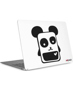 i HEART panda Apple MacBook Air Skin