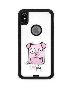 I HEART pig Otterbox Commuter iPhone Skin
