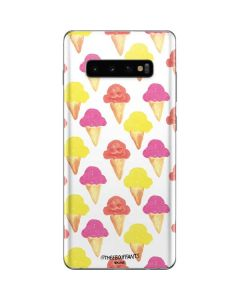 Ice Cream Galaxy S10 Plus Skin