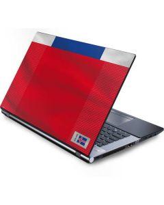 Iceland Soccer Flag Generic Laptop Skin