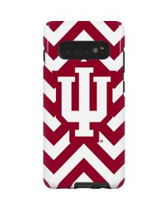 Indiana Chevron Print Galaxy S10 Plus Pro Case