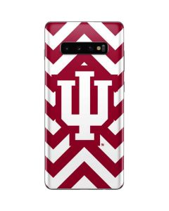 Indiana Chevron Print Galaxy S10 Plus Skin