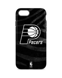 Indiana Pacers Black Animal Print iPhone 8 Pro Case