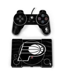 Indiana Pacers Black Animal Print PlayStation Classic Bundle Skin