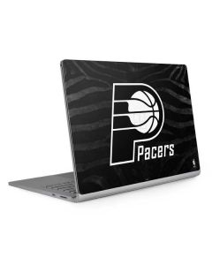 Indiana Pacers Black Animal Print Surface Book 2 13.5in Skin