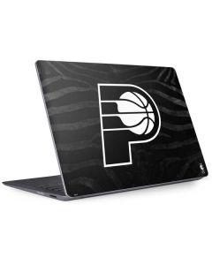 Indiana Pacers Black Animal Print Surface Laptop 2 Skin
