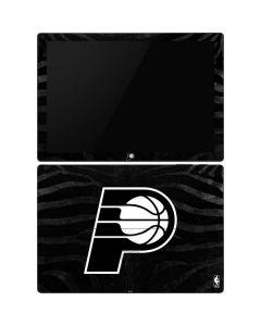 Indiana Pacers Black Animal Print Surface Pro 6 Skin