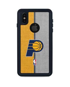 Indiana Pacers Canvas iPhone XS Waterproof Case