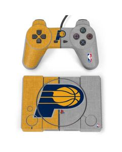 Indiana Pacers Canvas PlayStation Classic Bundle Skin