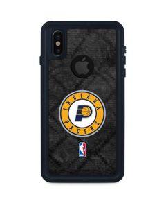 Indiana Pacers Dark Rust iPhone XS Waterproof Case