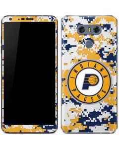 Indiana Pacers Digi Camo LG G6 Skin