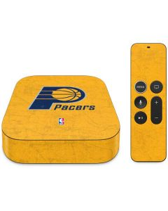 Indiana Pacers Distressed Apple TV Skin