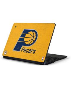 Indiana Pacers Distressed Samsung Chromebook Skin