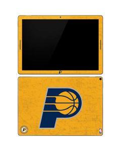 Indiana Pacers Distressed Google Pixel Slate Skin